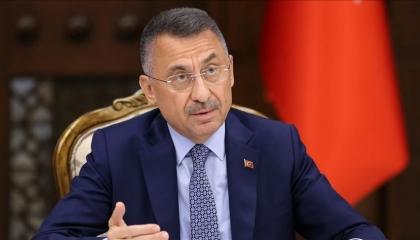 ردا على الرئيس الفرنسي.. نائب أردوغان: الاتفاقية التركية الليبية «خط أحمر»