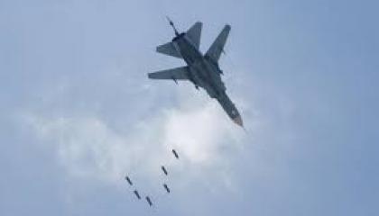 طائرات حربية روسية تهاجم مدينة كوباني السورية المتاخمة للحدود التركية