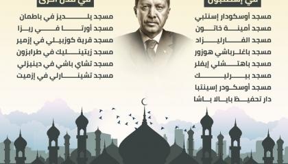 مساجد هدمها حزب أردوغان