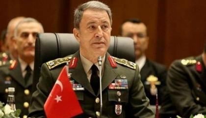 بالفيديو.. وزير الدفاع التركي يهدد جيرانه: مستعدون للقتال حتى الموت