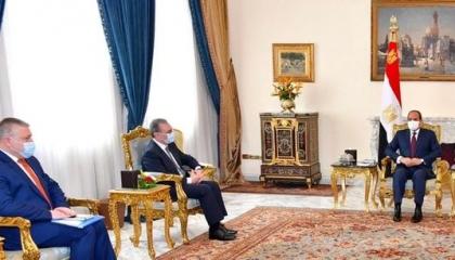الرئيس المصري يستقبل وزير خارجية أرمينيا بالقاهرة