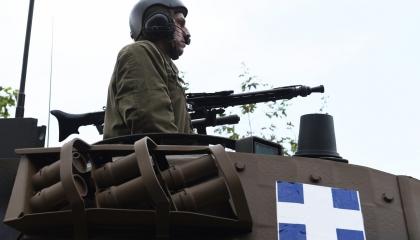 اليونان تبدأ مناورات مشتركة مع أمريكا بالدبابات المتطورة قرب الحدود التركية
