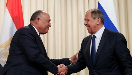 مصر وروسيا: لا بديل عن الحل السلمي لأزمات سوريا وليبيا