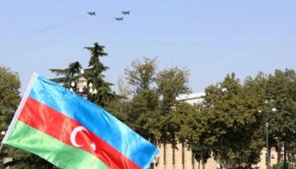 طائرات «إف-16» التركية تحلق في سماء أذربيجان