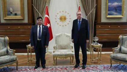 أردوغان يستقبل وزير خارجية بنجلاديش.. دون الإعلان عن تفاصيل