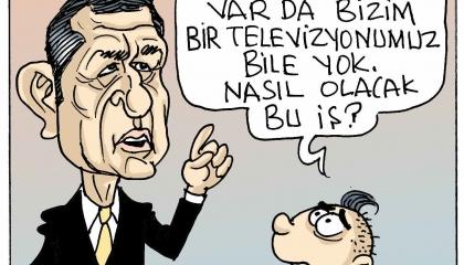 كاريكاتير.. الطلاب الأتراك: أي تعليم  عن بعد تقصدون وليس لدينا تليفزيون!