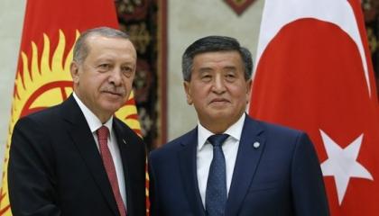 أردوغان وجاسوسه من جديد.. الرئيس التركي يهاتف نظيره القيرغيزي