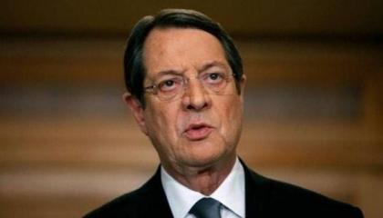 رئيس قبرص: تركيا تتصرف بشكل أحادي في المتوسط.. وعنادها وراء انقسام بلادي