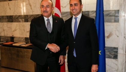 وزير خارجية تركيا يزور روما للتباحث مع نظيره الإيطالي حول شرق المتوسط
