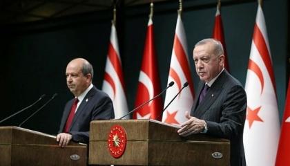 أردوغان: تركيا لن تسمح بتجاهل القبارصة الأتراك في المحافل الدولية مرة أخرى