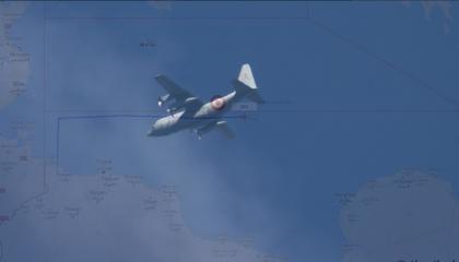 وسط مساعي إقرار  السلام في ليبيا.. طائرة تركية تغادر قاعدة الوطية