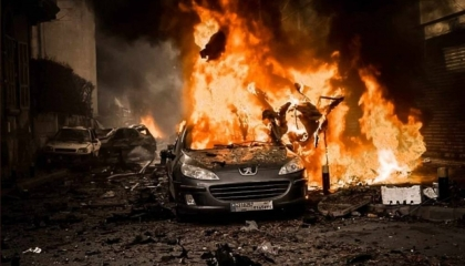 بالفيديو.. انفجار هائل يهز العاصمة اللبنانية