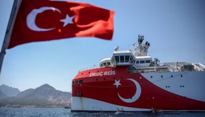 النظام التركي يعلن تمديد عمليات التنقيب في شرق المتوسط حتى 4 نوفمبر
