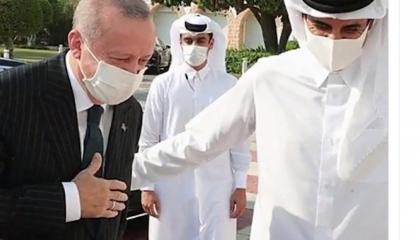 تميم يغازل الرئيس التركي.. أمير قطر: أردوغان والدي ولن أتخلى عنه حتى الممات