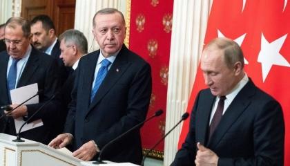 مباحثات لحل أزمة كاراباخ عبر اتصال هاتفي بين أردوغان وبوتين