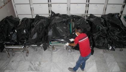 «ثلاجة الموتى» تفضح أنقرة.. حاويات تركية تنقل جثث المرتزقة من أذربيجان