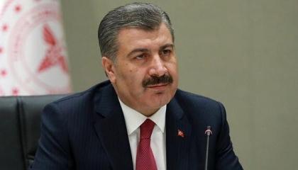 «الصحة» التركية تسجل 1693 إصابة جديدة بكورونا وإعلان وفاة 66 حالة
