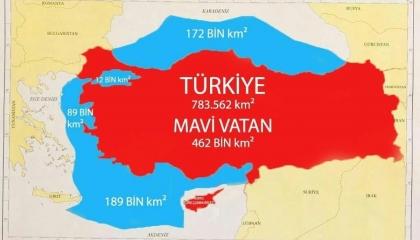«الوطن الأزرق».. تاريخ النسخة البحرية من حرب أردوغان في الشرق الأوسط