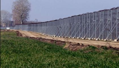 بـ74 مليون دولار.. اليونان تبني جدارًا عازلًا على حدودها مع تركيا