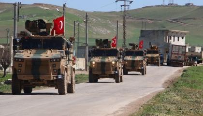 «رويترز»: تركيا تسحب قاعدة «مورك» العسكرية من شمال غرب سوريا