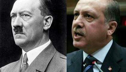 المرأة الحديدية لأردوغان: لو عاد هتلر للحياة سيندم لأنك تجاوزت فاشيته