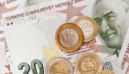 الليرة التركية تستقر نسبيًا أمام الدولار واليورو يرتفع إلى 9.33 ليرة تركية