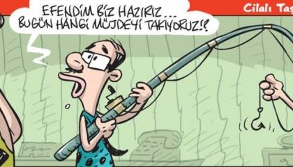 كاريكاتير: بُشريات أردوغان لا نهاية لها.. والمواطن لا حول ولا قوة له