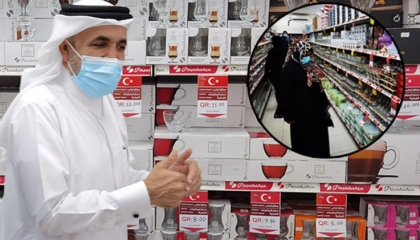 بالصور.. المتاجر القطرية تطلق حملة ترويجية كبرى لإنقاذ الاقتصاد التركي
