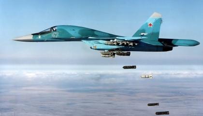 سقوط عشرات القتلى في قصف روسي لمعسكرات ميليشيات أردوغان بسوريا