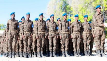 عناصر من الشرطة الصومالية التابعة لتركيا تسيطر على قصر رئاسي بالبلاد