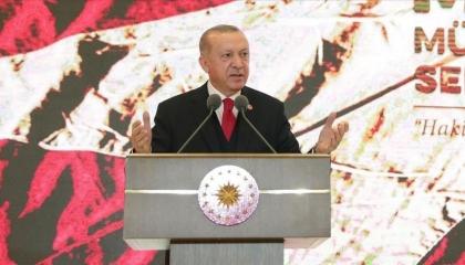 في خطابه بذكرى تأسيس الجمهورية.. أردوغان يحكي للأتراك عن بلدهم عام 2071