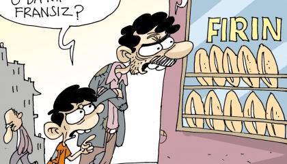كاريكاتير لأردوغان: المواطنون لا يملكون المال ليقاطعوا فرنسا أو غيرها