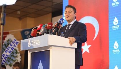 علي باباجان لأردوغان: مشروع «قناة إسطنبول» يساهم في تعطيش الأناضول