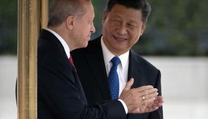 رئيس تركيا يخضع للتنين الصيني.. أردوغان حذف «شكر تايوان» على مساعدتها بلاده