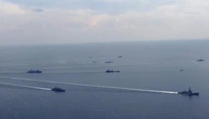 بالفيديو.. تركيا تواصل إشعال شرق المتوسط.. مناورات «الحوت الأزرق» مستمرة