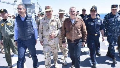 اجتماع وزراء دفاع مصر واليونان وقبرص في أثينا الجمعة المقبل