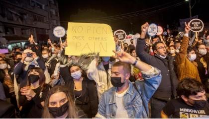 قبرص الشمالية تتمرد على تركيا وتستقبل أردوغان بالاحتجاجات: تدخلات مرفوضة