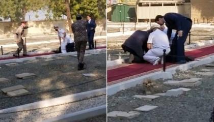 بالصور.. إصابة شخصين في هجوم إرهابي بالسعودية
