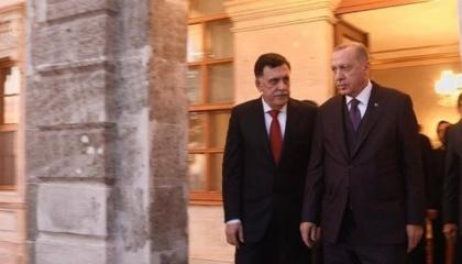 بعد زيارة أردوغان لفاروشا.. رئيس حكومة الوفاق الليبية يسافر لقبرص التركية