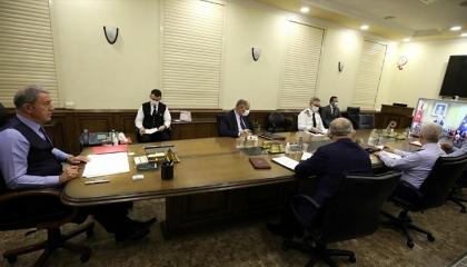الدفاع التركية تهدد قبرص اليونانية: سنحمي القبارصة الأتراك بكل الوسائل