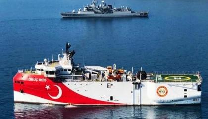 تركيا تمدد فترة عمل سفينة التنقيب «أوروتش رئيس» قبالة السواحل اليونانية