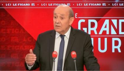 لودريان: تصريحات أردوغان التشهيرية ضد فرنسا لا تفسح المجال للحوار