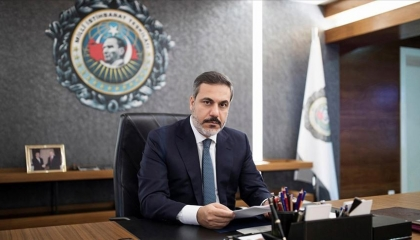 رئيس المخابرات التركية يزور دمشق سرًا