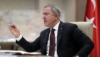 وزير الدفاع التركي: عملية «إيريني» ولدت مشوهة وتخالف القانون الدولي