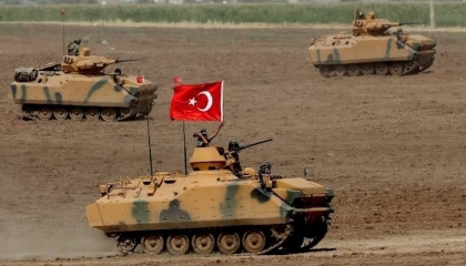 تركيا تدفع بتعزيزات عسكرية  في الأراضي السورية المحتلة