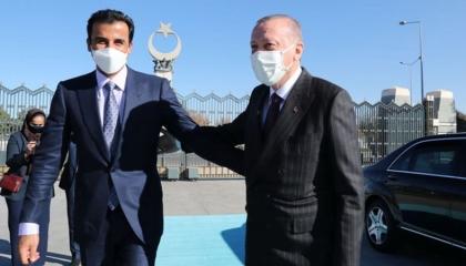 قطر تنتشل أردوغان من الانهيار الاقتصادي بـ300 مليون دولار