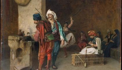 كان يصيح «انزل يا باشا».. حكاية «أبو طبق» عازل باشوات مصر