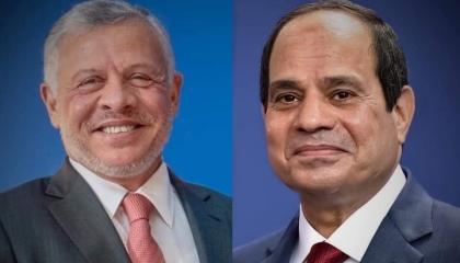 ملك الأردن يناقش قضايا الشرق الأوسط هاتفيًا مع الرئيس المصري