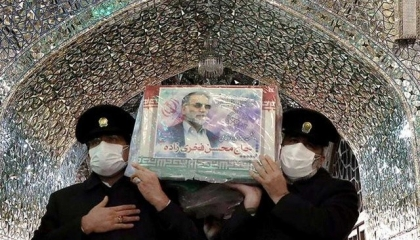 التلفزيون الإيراني يفجر مفاجأة بشأن عملية اغتيال العالم النووي فخري زادة