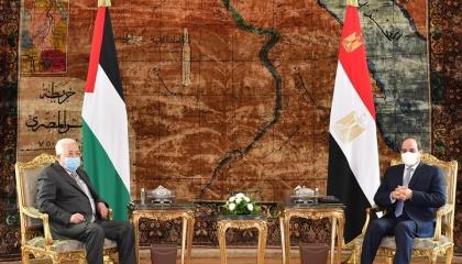 السيسي: القضية الفلسطينية تظل ذات أولوية في السياسة المصرية